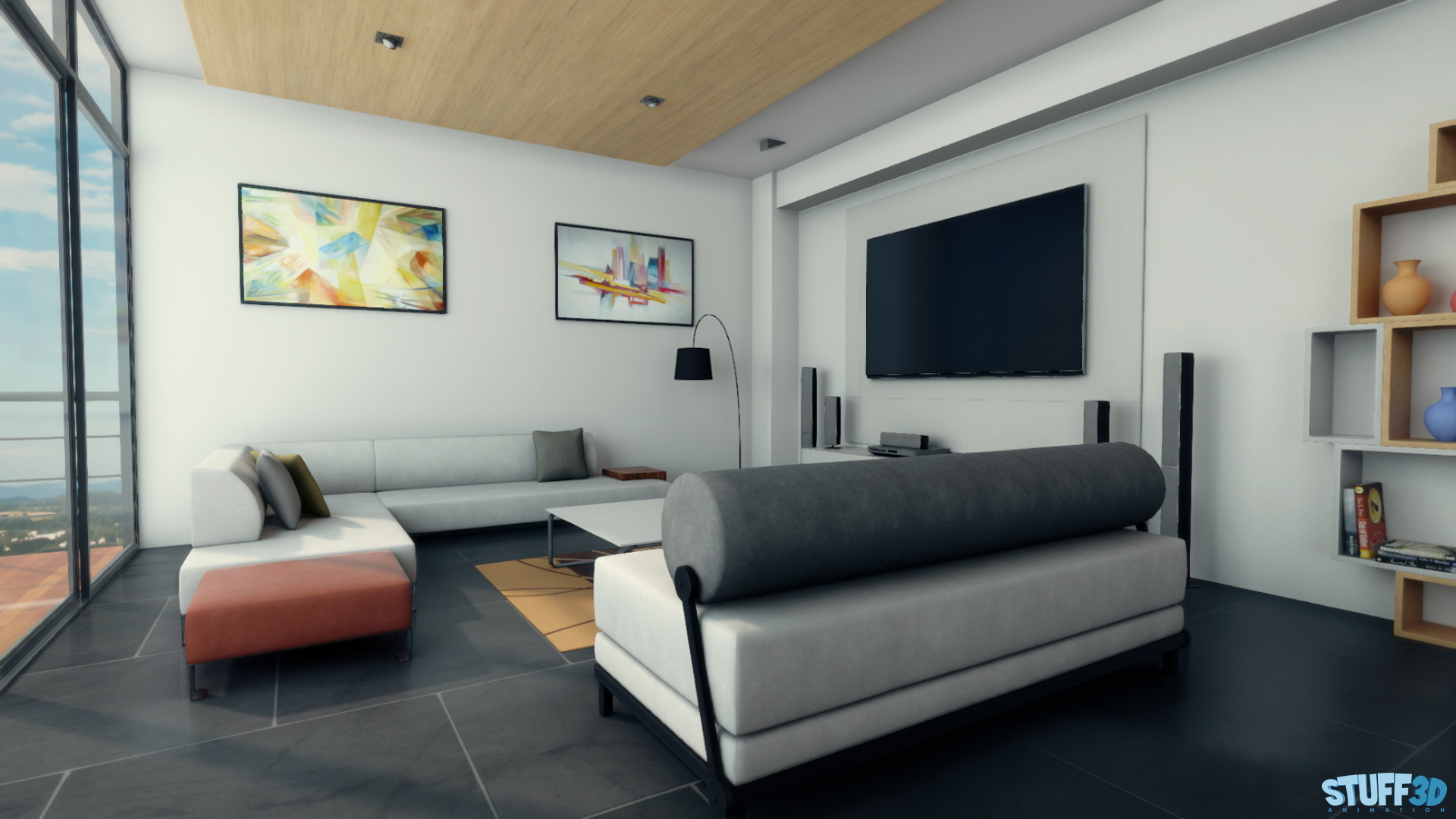 Apartment – Real Time Unity3D – 01