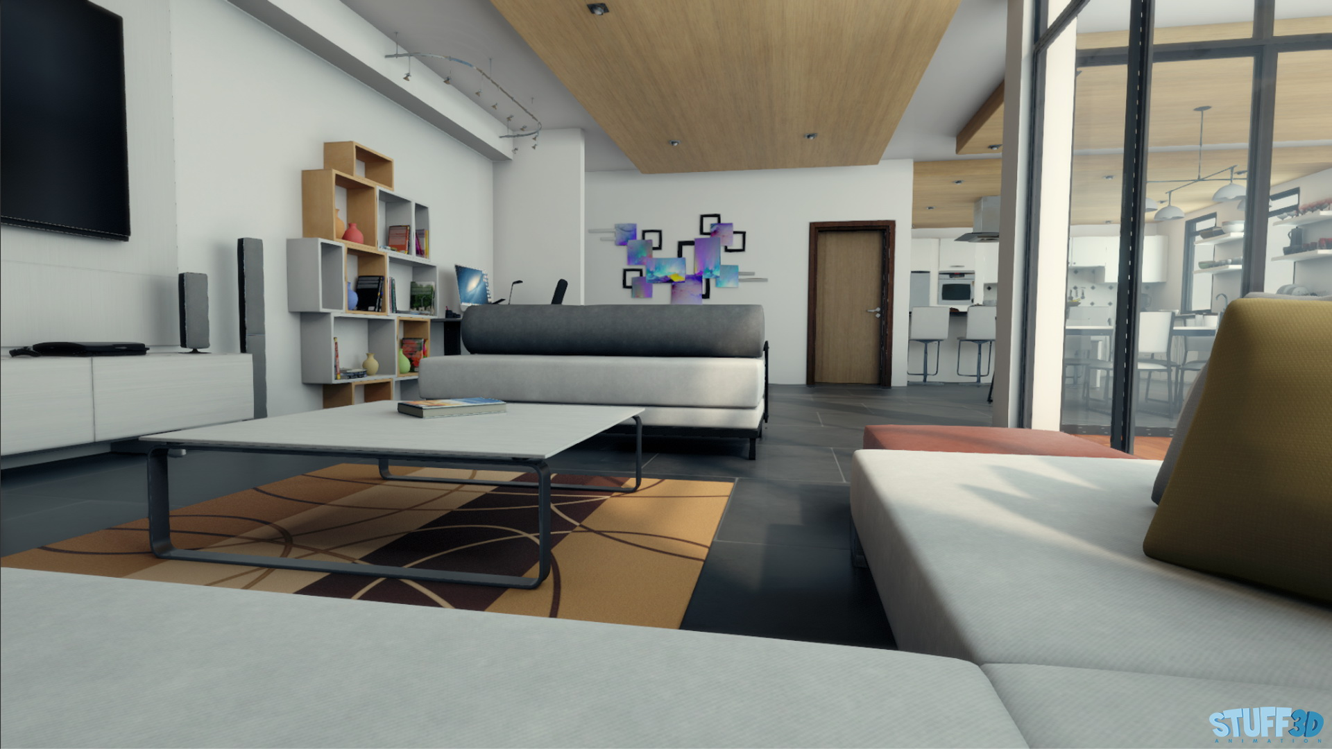 Apartment – Real Time Unity3D – 02
